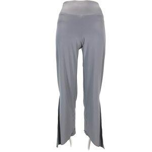 sympli Women pants slit Side Layered Size 4 Grey